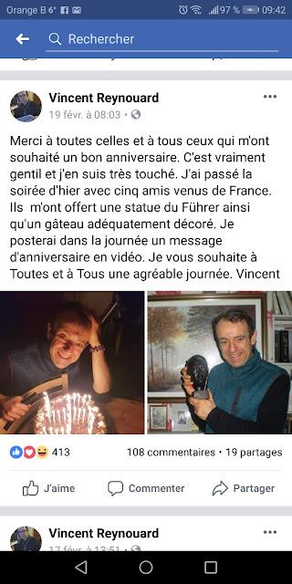 Vincent Reynouard,nazisme, révisionnisme, antisémitisme,balance ton antisémite,BTA