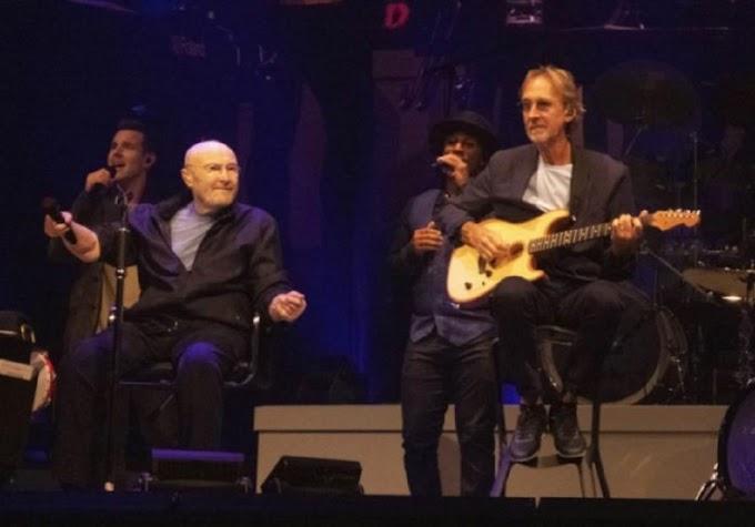 Phil Collins abre turnê de despedida do Genesis