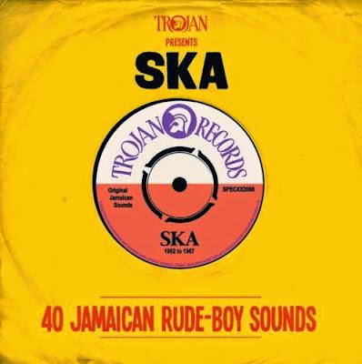 TROJAN PRESENTS SKA - 40 Jamaican Rude-Boy Sounds