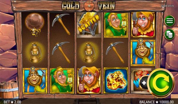 Main Gratis Slot Indonesia - Gold Vein Booming Games