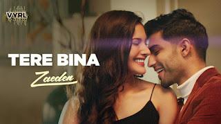 Tere Bina Lyrics, Tere bina by zaeden lyrics, tere bina song lyrics
