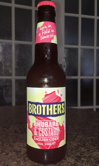 Brothers Rhubarb & Custard English Cider