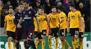 Wolverhampton Wanderers vs Arsenal 3-1 Highlights