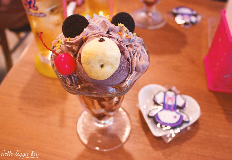 kawaii ice cream, maid cafe, maidreamin