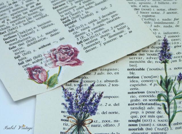 decoupage-papel-diccionario