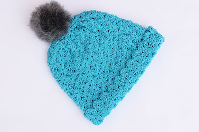 4 - Crochet Imagenes Gorro de lana a crochet con pompom por Majovel Crochet