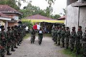Kodim 0106/Ateng-Bm Melaksanakan Upacara Pemakaman Militer