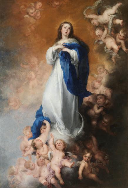 La Inmaculada Concepción de los Venerables  - Bartolomé Esteban Murillo - Museo del Prado, MADRID