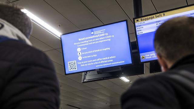 هولندا تحظر الرحلات الجوية القادمة من بريطانيا بعد اكتشاف سلالة جديدة من فيروس كورونا