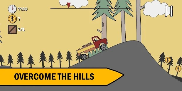 Hills, trees and truck! Apk Free on Android Game Download