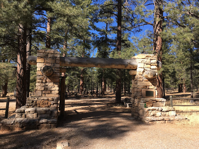 historic Pioneer Cemetery, Grand Canyon National Park, Arizona, USA