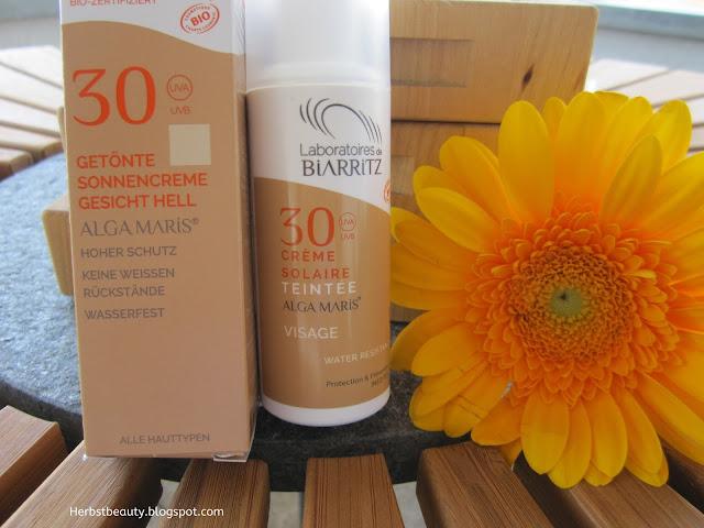 Laboratoires Biarritz Alga Maris getönte Sonnencreme