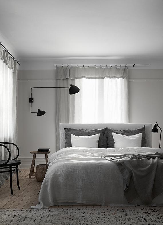 Gray interiors inspiration   Lotta Agaton