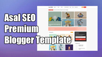 Asal SEO Premium Blogger Template