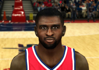 NBA 2K13 Chris Singleton Cyberface Patch