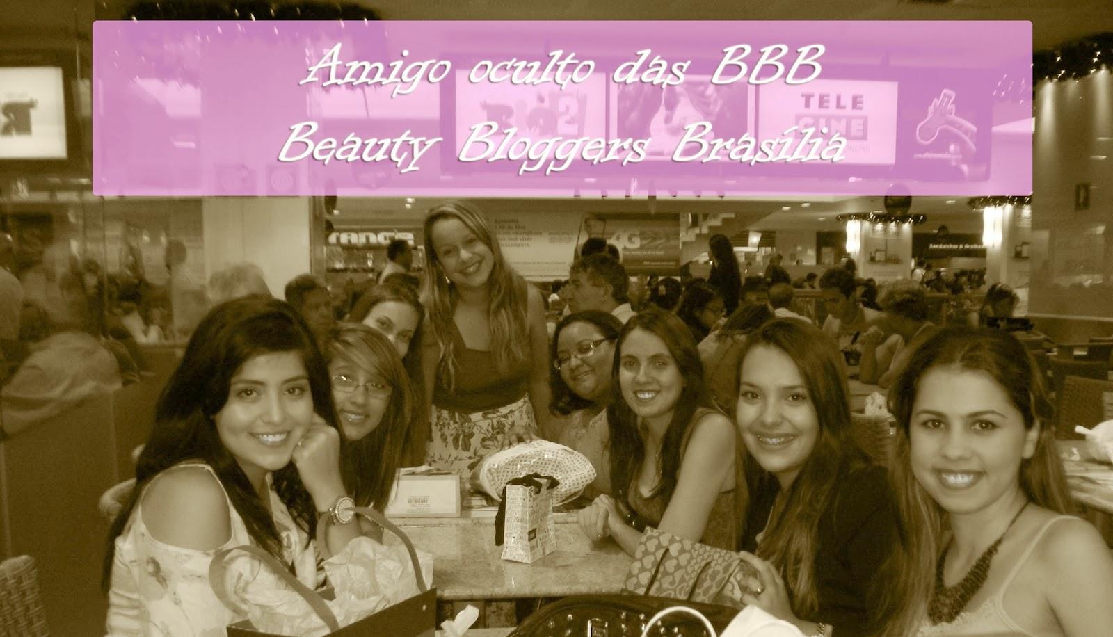 Amigo oculto das BBB - Beauty Bloggers Brasília