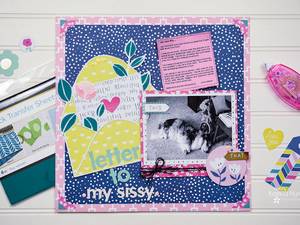 Love Letters with Therm O Web Deco Foil Flock Sheets