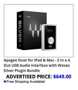 Apogee Duet and Waves Silver Bundle