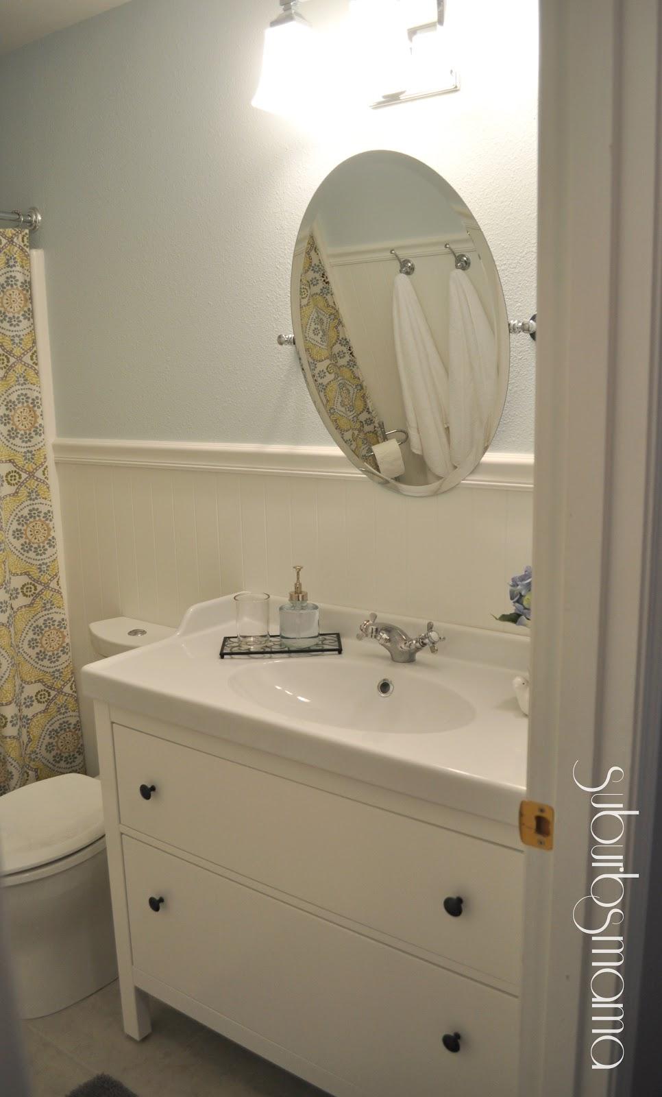 Suburbs Mama Hallway Bath Reveal