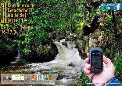 III Encuentro de Geocachers Valle del Jerte. 16 y 17 de febrero en El Torno y Rebollar