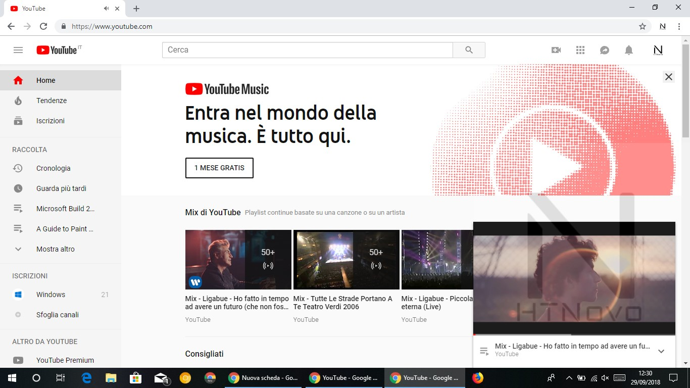 Miniplayer-youtube-web