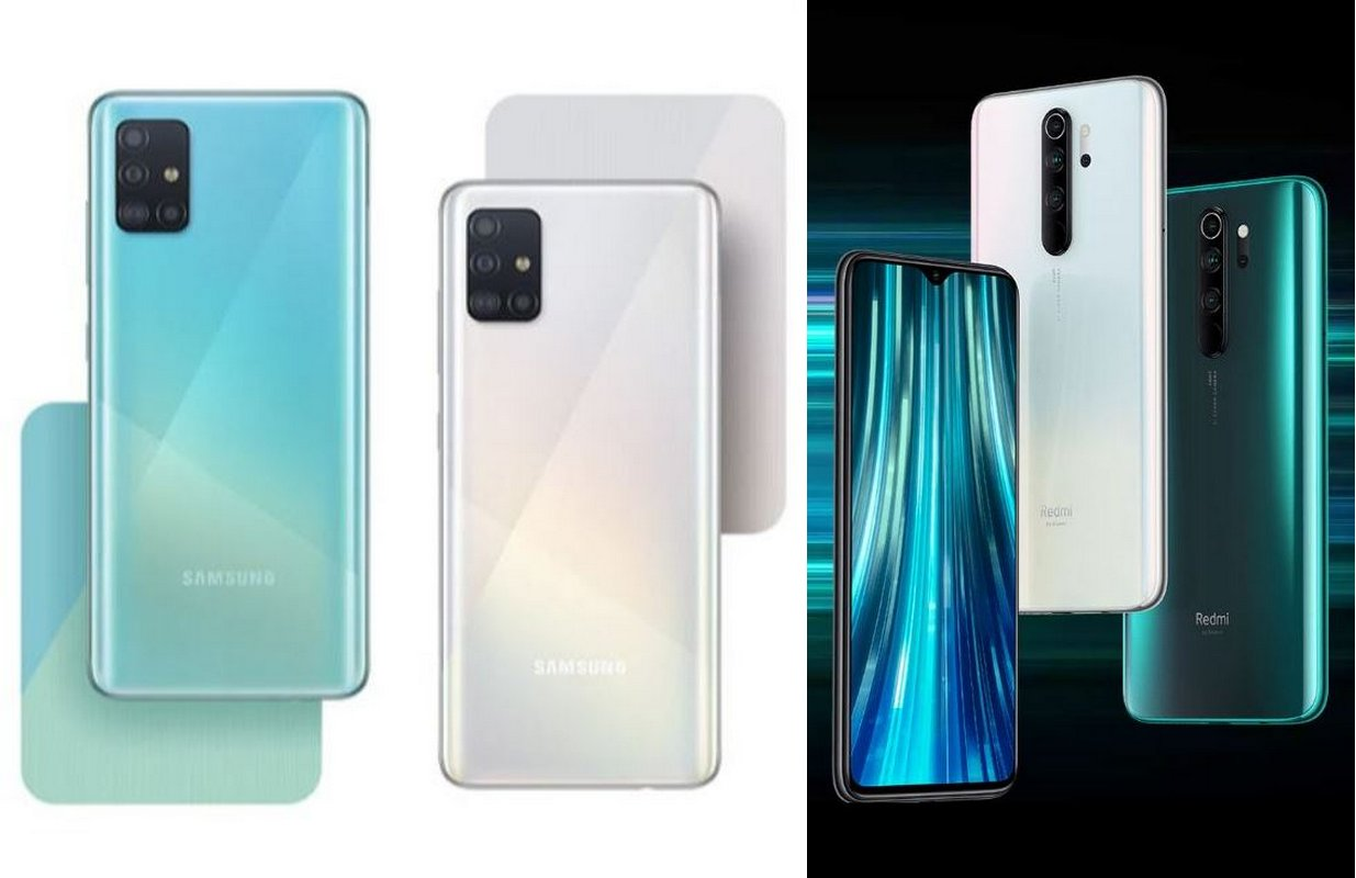 Duel Samsung Galaxy A51 vs Xiaomi Redmi Note 8 Pro, Pilih Mana?