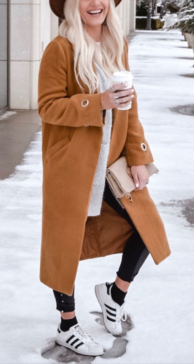 23 Stylish Fall Fashion Ideas for Women Over 30. We've taken the liberty of compiling a list of fall outfit ideas for women over 30. Fall Style via higiggle.com | brown coat | #fashion #falloutfits #style #coat