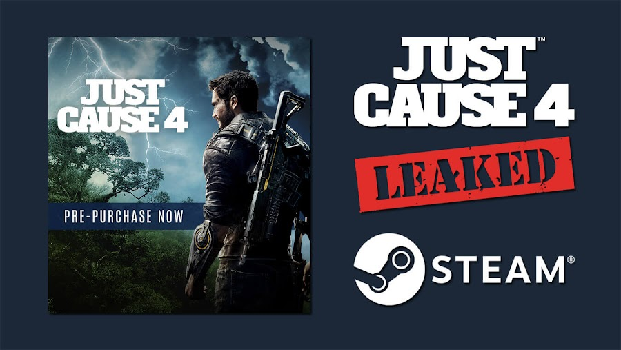 just cause 4 leak steam e3 2018