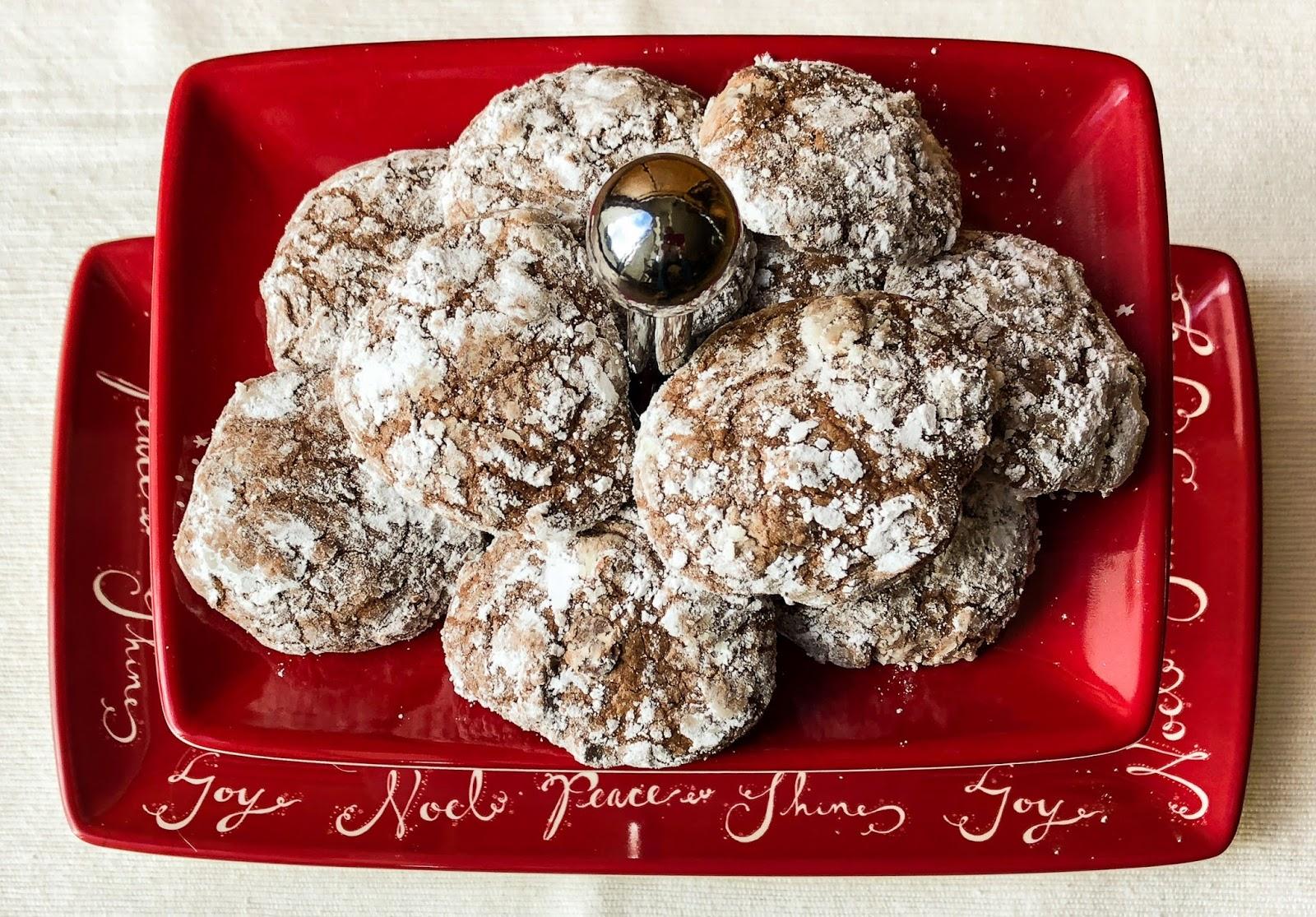 crackle cookies brownie mix
