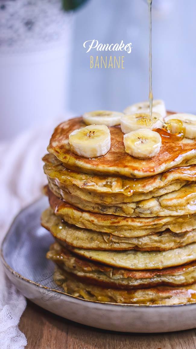pancake banane sans lait