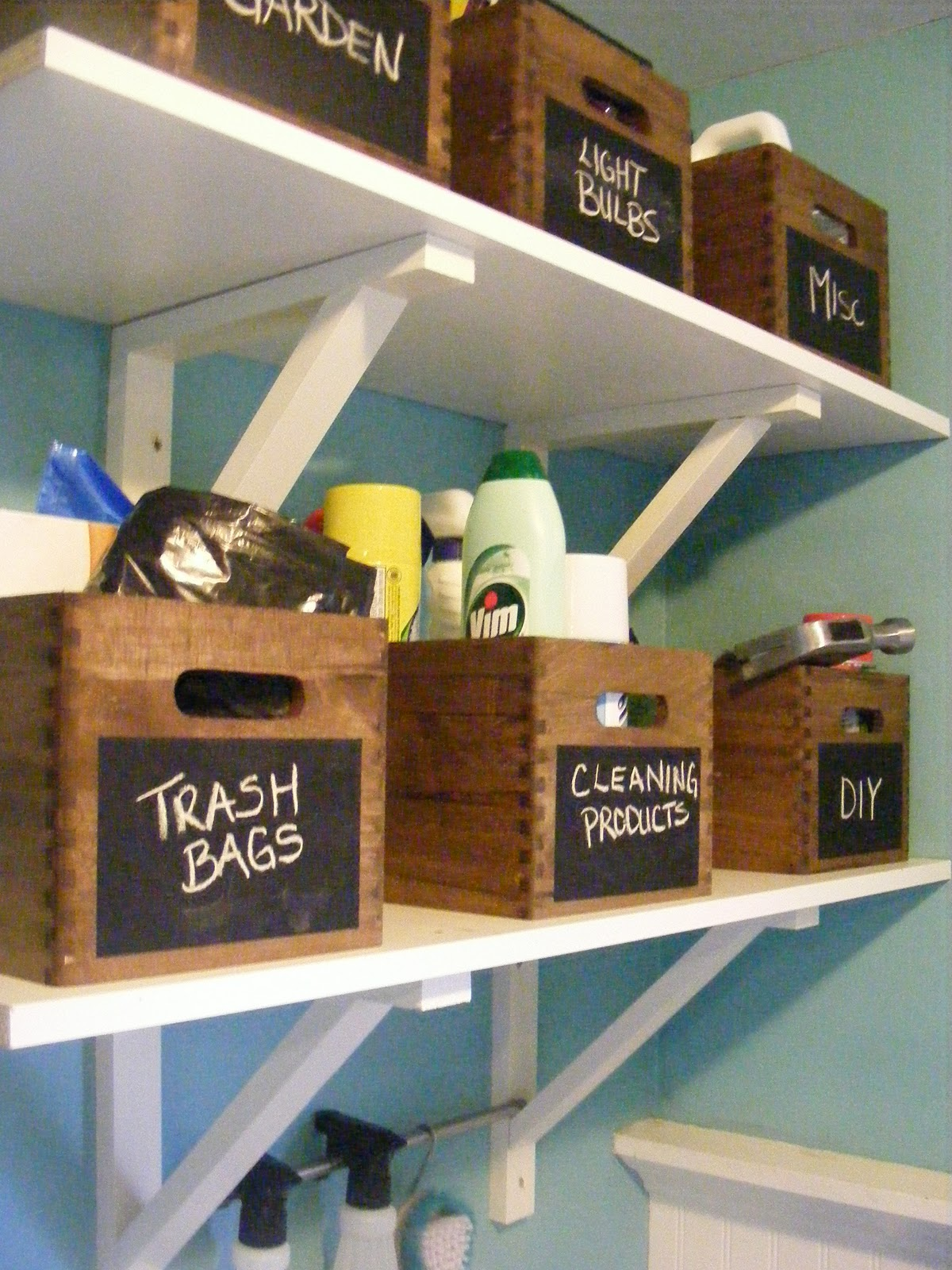 {OrganizedHome} Day 28: Laundry Room Organization | The ... on Laundry Room Organization Ideas  id=47287