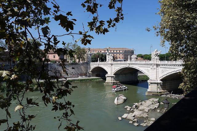 Chateau, Saint Ange, Tibre, Pont, Rome, Roma, Blog, Voyage, basilique, centre historique,