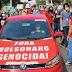 PM de Goiás prende militante do PT por faixa 'Bolsonaro genocida', militante foi enquadrado na Lei de Segurança Nacional por calúnia