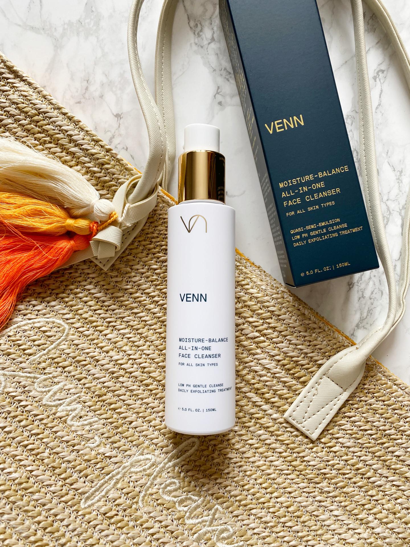 venn moisture balance all in one cleanser review