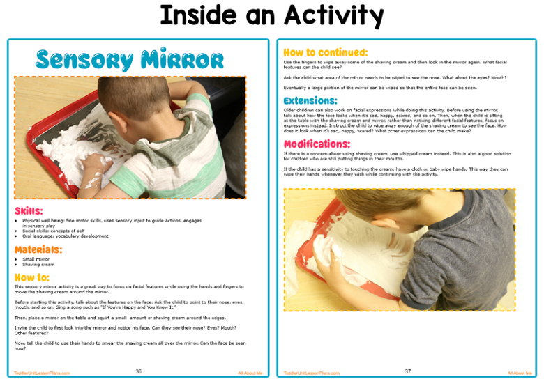 toddler lesson plans activities