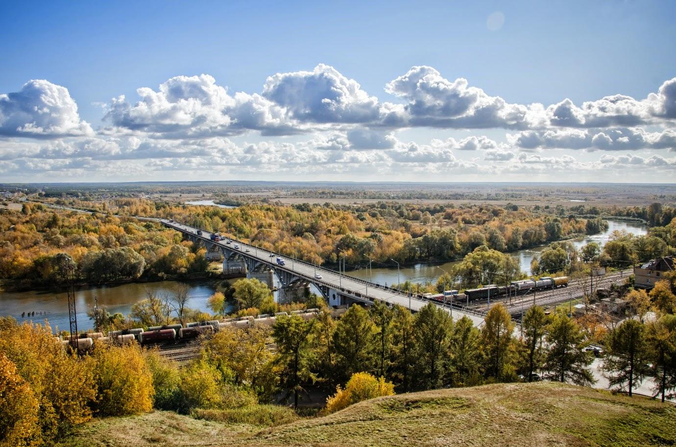 Мост через Клязьму. Владимир