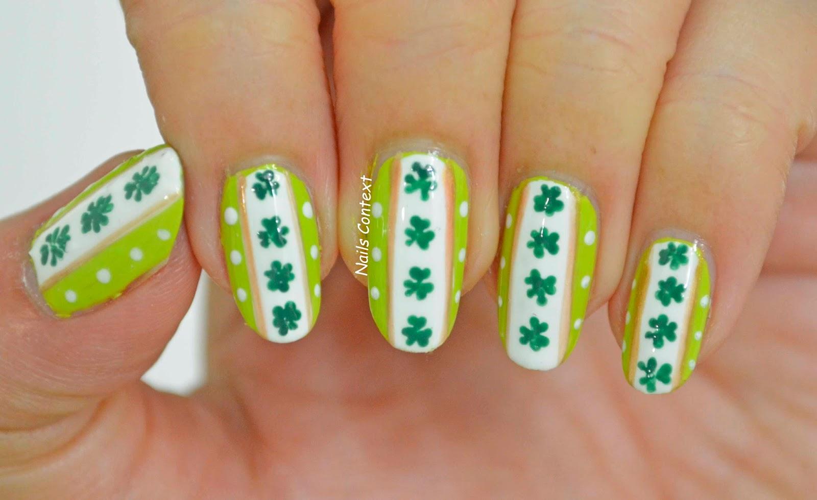 Nails Context: St Patrick\'s Day 2016
