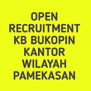 Open recruitment KB Bukopin Kantor Wilayah Pamekasan