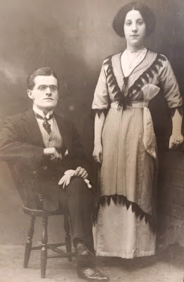 William Hunter and Mary Paton Douglas married 1912