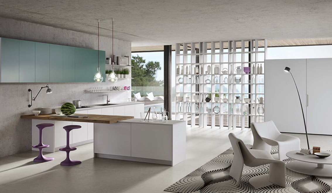 Una cocina de diseño único creada por Karim Rashid | Arquitectura y ...