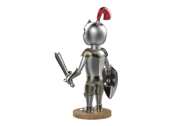 knight 3d model free download