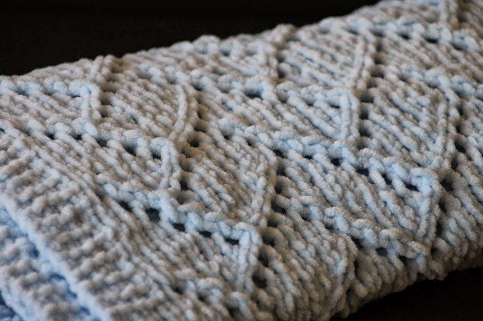 Balls to the Walls Knits: baby blanket