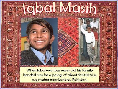 Kisah Iqbal yang dijual keluarganya untuk bekerja sebagai buruh pembuat karpet (room201atgccs.com)
