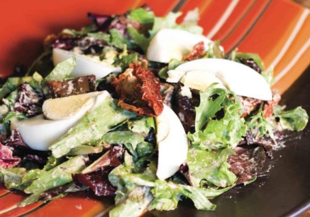Egg Tahini Salad Recipe