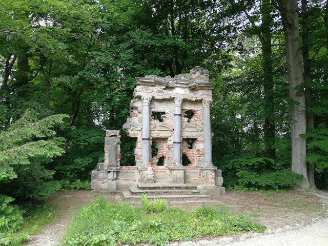 Eremitage Bayreuth - Ruine