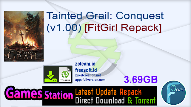 Tainted Grail Conquest (v1.00) [FitGirl Repack]
