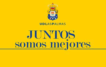Juntos somos mejores lema UD Las Palmas