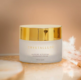 Night cream crystallure by wardah