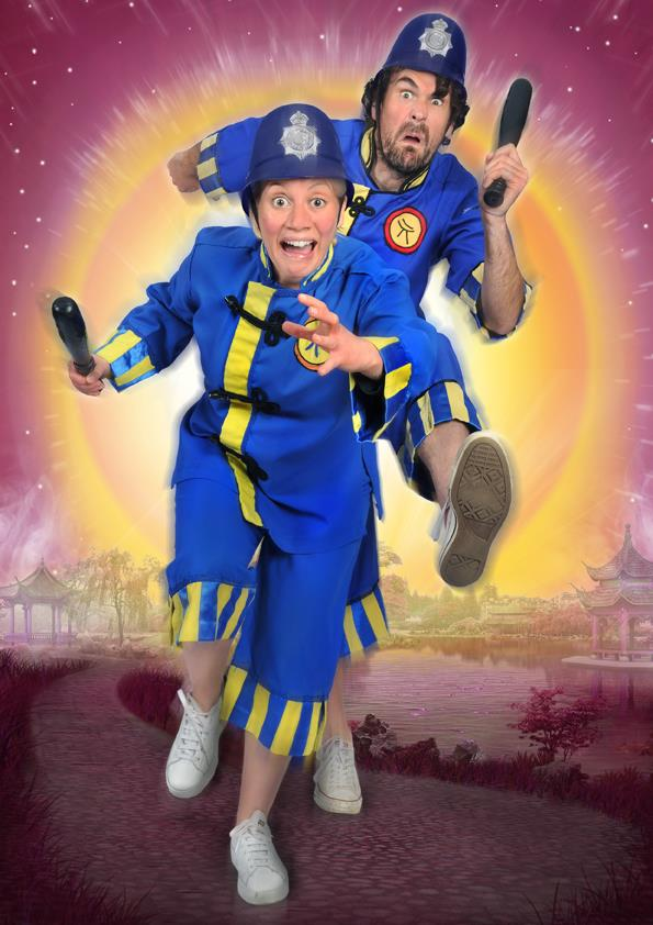 Blue Genie presents Aladdin at Whitley Bay Playhouse | A Review - PC Left and PC Right