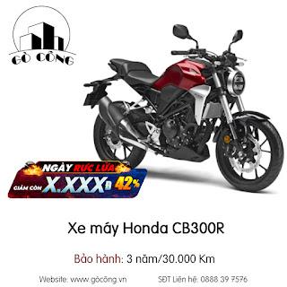 Bảng Giá Xe máy Honda CB300R Mới Nhất Tháng 12/2020